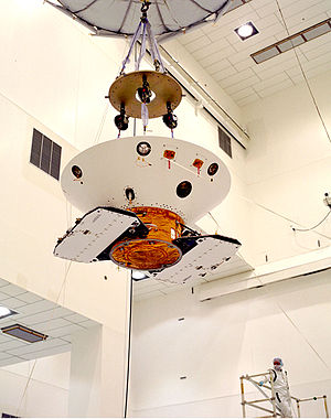 Lander (spacecraft) - Mars Polar Lander prep