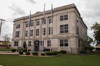 Marshall County, Oklahoma - Image: Marshall Courthouse 1 (1 of 1)