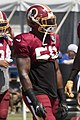 Martrell Spaight Washington Redskins Training Camp 2017-07-31.jpg