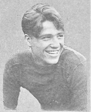 Marty Norton - Norton pictured in Centralian 1922, Central High School yearbook