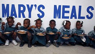 Mary's Meals - Mary's Meals Haiti by Angela Catlin