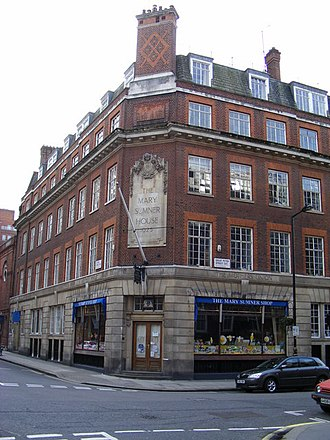 Associated Country Women of the World - Image: Mary Sumner House Mothers Union HQ Tufton Street geograph.org.uk 1132363