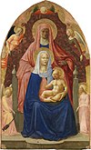 Masaccio. The Madonna and Child with st. Anna. ca. 1424. Uffizi, Florence.jpg