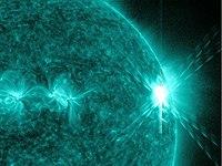 Massive X-Class Solar Flare
