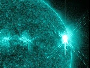Massive X6.9 class solar flare, August 9, 2011...