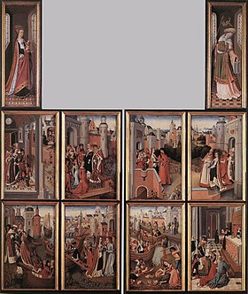 Master Of The Legend Of St. Ursula - Legend of St Ursula, the Church and the Synagogue - WGA14575.jpg