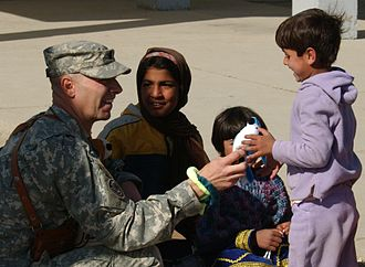Douglas V. Mastriano - Mastriano in Afghanistan with orphans