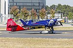 Matt Hall Racing (VH-CQE) MX Aircraft MXS-R at the Canberra Airport open day.jpg