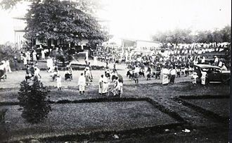 Mau movement - Mau demonstration in Apia, 1929