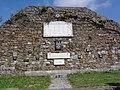 Maubeuge (Nord, Fr) monument au morts porte de Mons, plaquettes noms.JPG