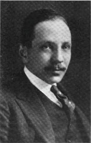 Maurice Wertheim - Wertheim in 1922.