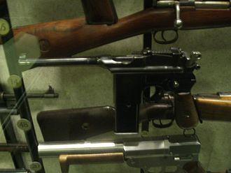 Machine pistol - Mauser Schnellfeuer machine pistol