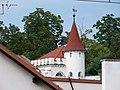 Mauthnerova tkalcovna, věžička, z nádraží.jpg