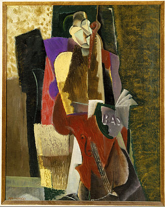 Max Weber (artist) - The Cellist, 1917, which was featured in Weber's 1930 retrospective exhibition at the Museum of Modern Art