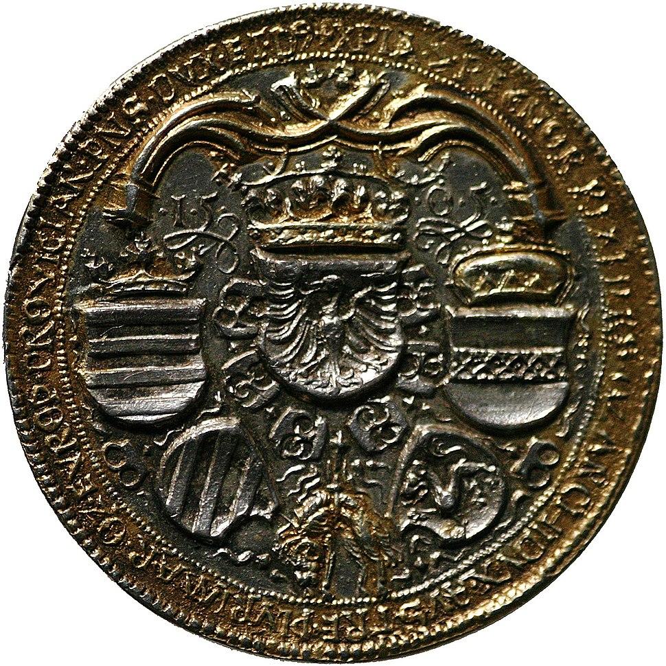 Maximilian I 1505 rv
