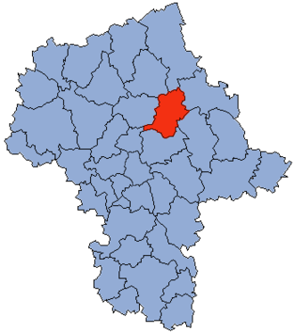 Wyszków County - Image: Mazowsze Wyszkowski