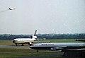 McDonnell Douglas DC-10-10 G-BJZE, British Caledonian, Manchester Airport, July 1982. (5523257179).jpg