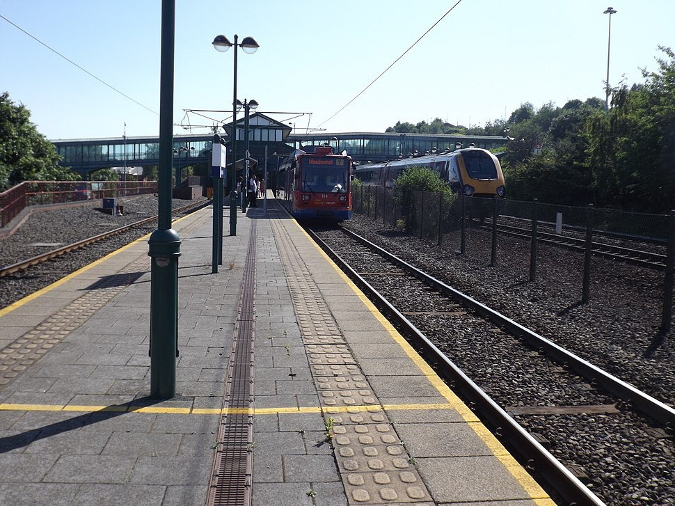 Meadowhall tram 2018