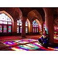 Meditation in Nasir al mulk Mosque.jpg