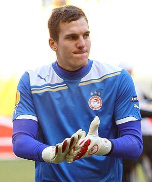 Balázs Megyeri - Megyeri playing for Olympiacos