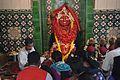 Melai Chandi Idol with Worshippers - Melai Chandi Mandir - Amta - Howrah 2015-11-15 7007.JPG
