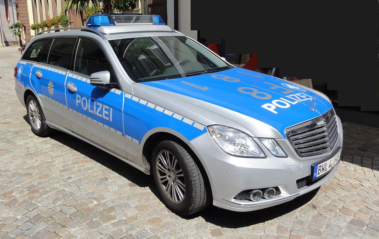 мерседес police