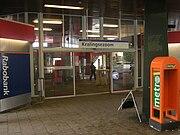 Ingang metrostation Kralingse Zoom