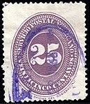 Mexico 1886 25c Sc183 used.jpg