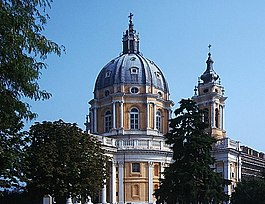 Basilica di Superga near Turin: Filippo Juvarra