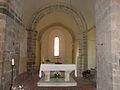 Mialet (Dordogne) église choeur.JPG
