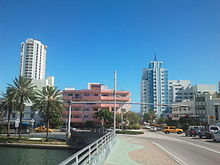 Bridge Over Indian Creek 41st Street Miami Beach