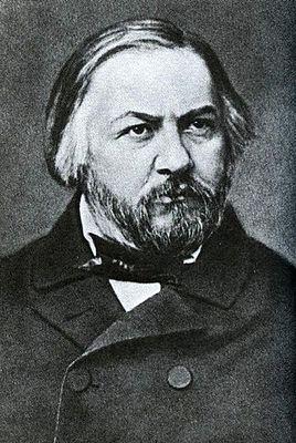Михаил Глинка. Фотография С. Л. Левицкого. 1856 г.
