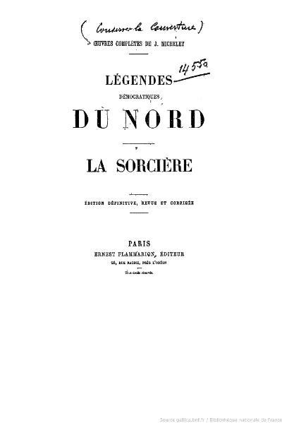 File:Michelet - OC, Légendes démocratiques du Nord, La Sorcière.djvu