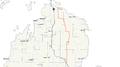 Michigan 33 map.png