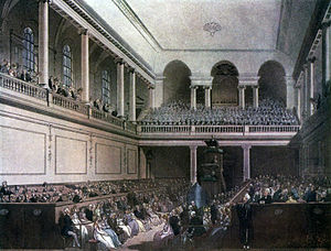 Foundling Hospital Anthem - The Foundling Hospital Chapel, venue of Handel's premiere