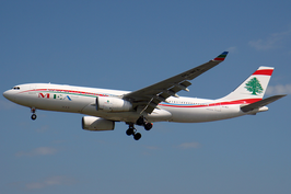 Een Airbus A330-200 van Middle East Airlines