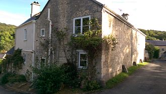 "Cranham, Gloucestershire - Midwinter, the house where Gustav Holst wrote the tune ""Cranham"" for In the Bleak Midwinter."
