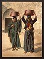 Milk seller of Siloam, Holy Land-LCCN2001699276.jpg