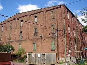 David H. Miller Tobacco Warehouse - Miller Tobacco Warehouse, August 2011