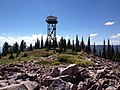 Mineral Peak Lookout tower looking West - panoramio.jpg