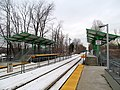 Mini-high platforms at North Leominster station, December 2013.JPG