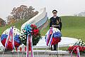 Ministrica Andreja Katič se je z delegacijo poklonila padlim v vojni za Slovenijo 1991 06.jpg