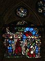 Miracoli della madonna di orsanmichele, n2, leonardo di simone su dis. attr. ad agnolo gaddi, 1380-1400 ca. 02 miracolo del bimbo nato nero.jpg