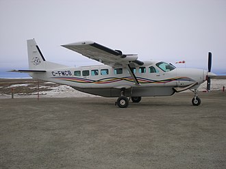 2011 Missinippi Airways Cessna 208 crash - The Missinippi Airways Cessna 208 involved in the accident