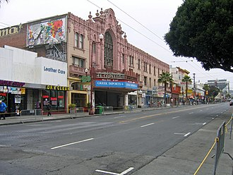 Mission Street - Mission Street between 19th and 20th
