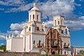Mission San Xavier del Bac from the side.jpg