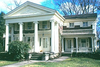 Milan, Ohio - The Mitchell-Turner House, 1848