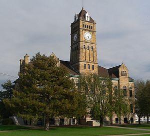 Beloit, Kansas - Mitchell County Courthouse (2014)