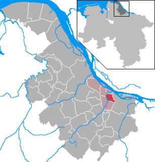 Mittelnkirchen Place in Lower Saxony, Germany