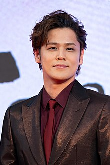 "Miyano Mamoru from ""Human Lost"" at Opening Ceremony of the Tokyo International Film Festival 2019 (49013810737).jpg"